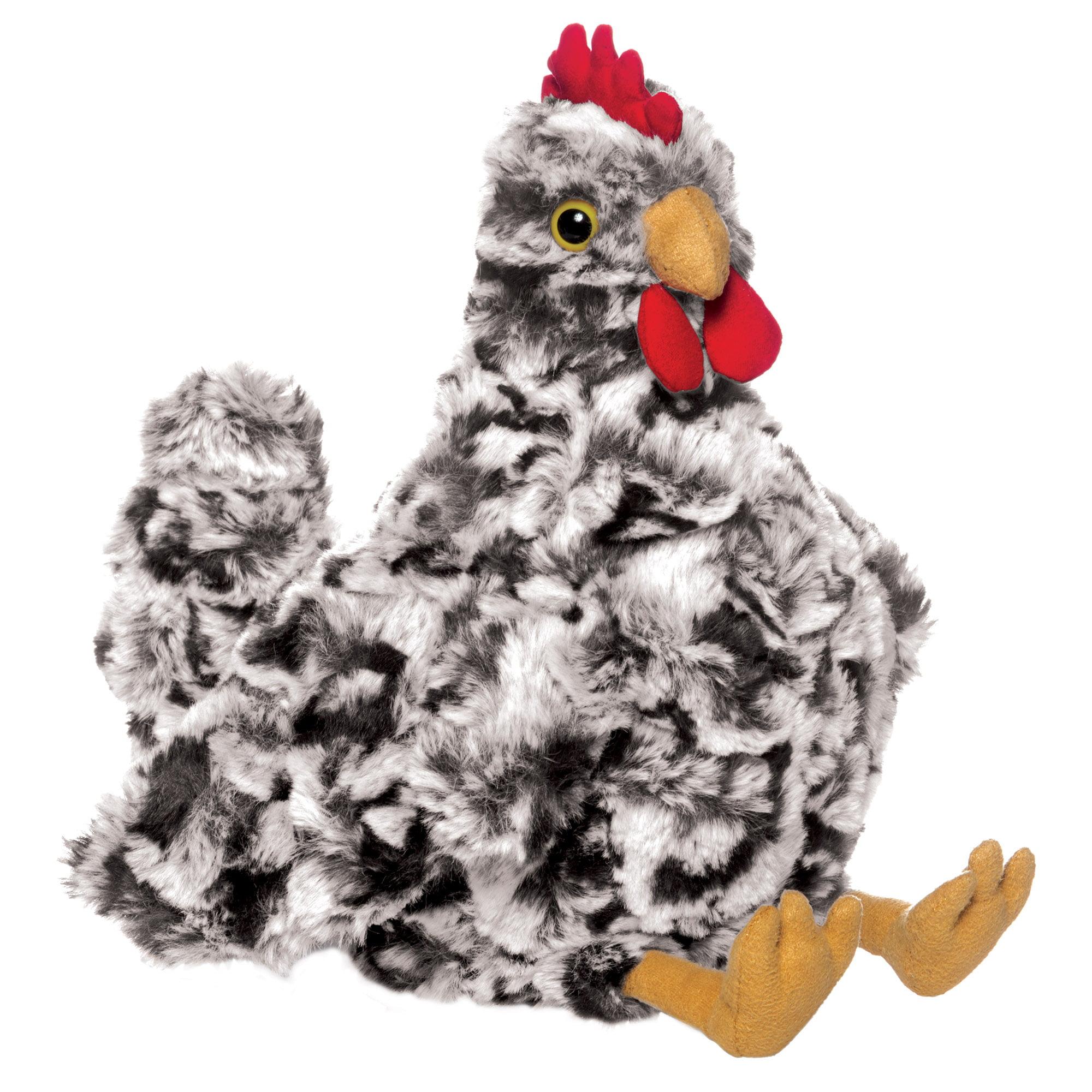 """Manhattan Toy Stuffed Animal Chicken 9"""" Plush Toy, Henley"""