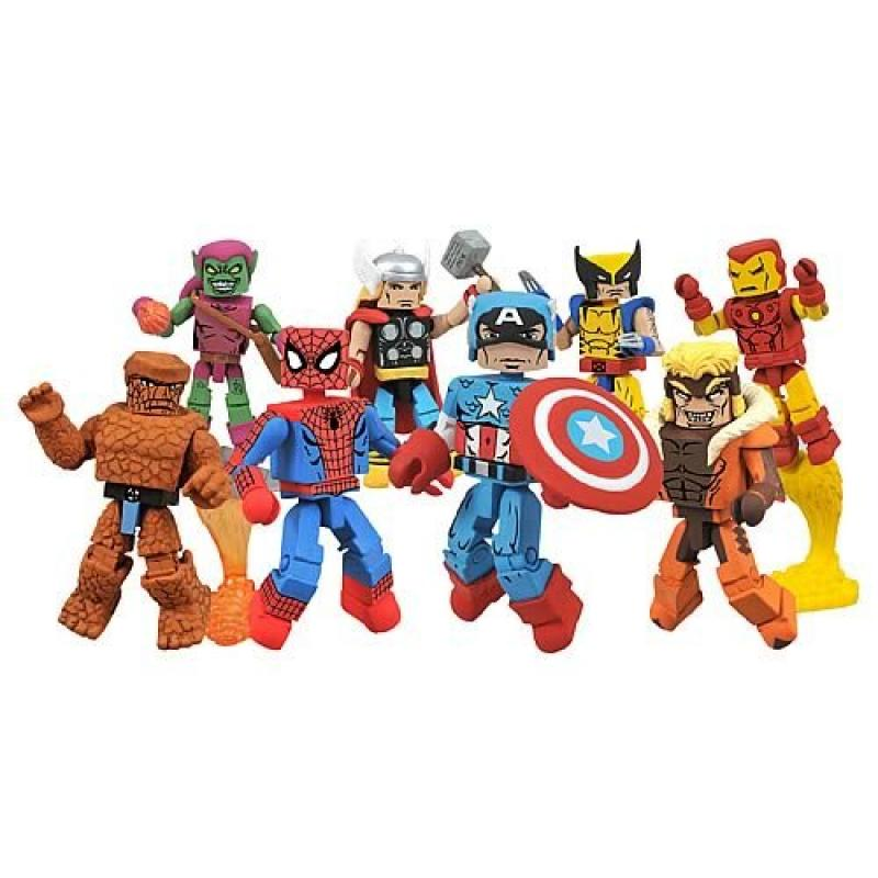 Diamond Select Marvel Minimates Best of Mini-Figures Set