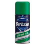 2 Pack Barbasol Shave Cream, 7 Ounce (Soothing Aloe)