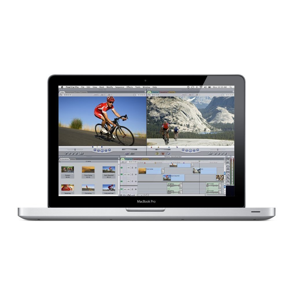 Apple MacBook Pro 13.3'' MC700ll/A Laptop Computer Intel i5 Dual Core 2.3GHz 4GB 320GB ( Certified Refurbished - Grade C )
