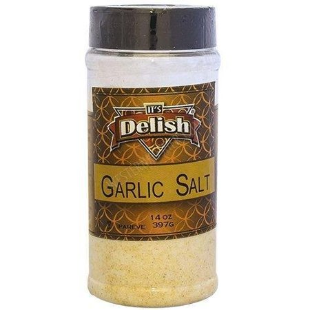 Garlic Salt ((2 Pack) Garlic Salt by Its Delish, 14 oz Medium Jar )