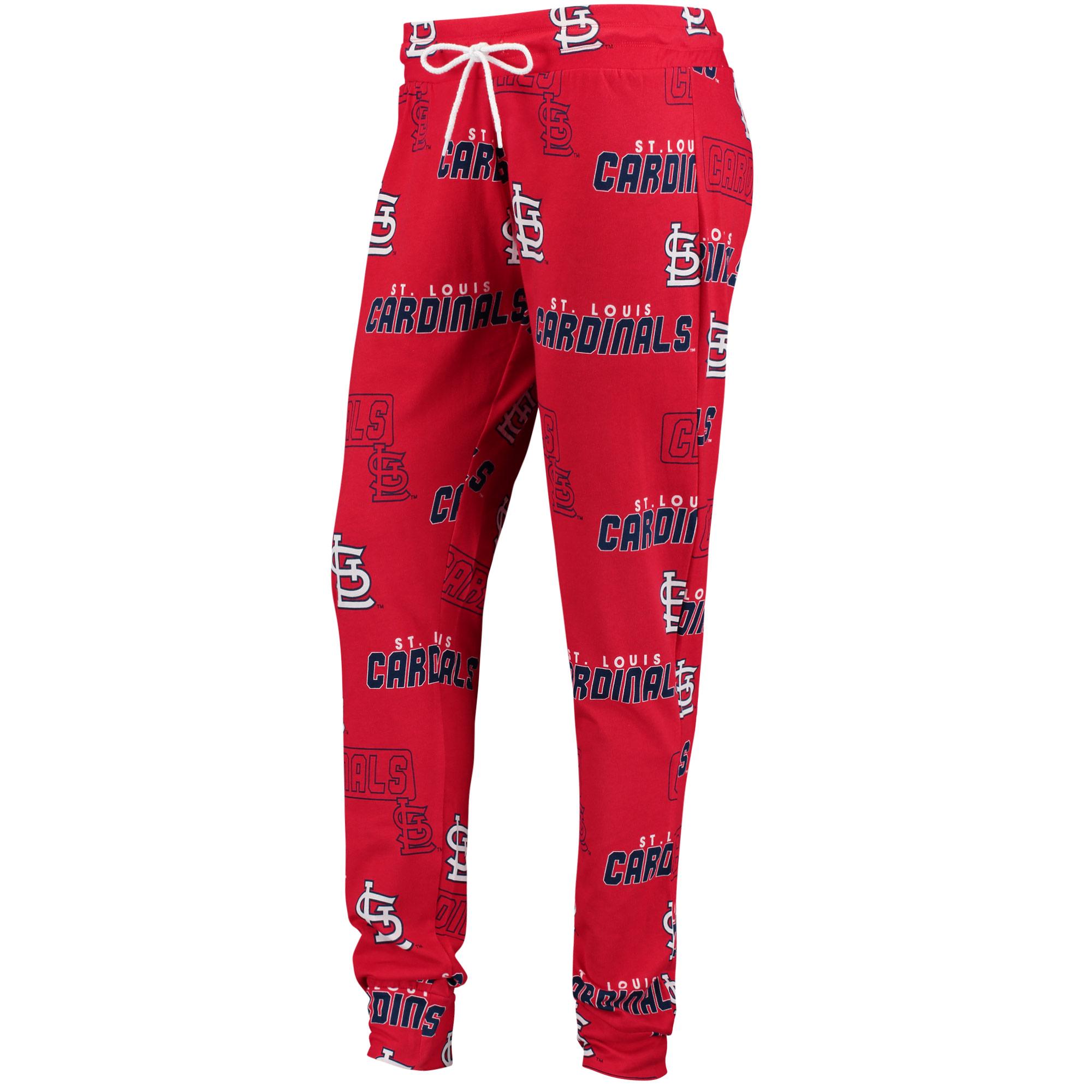 St. Louis Cardinals Concepts Sport Women's Slide Knit Pajama Pants - Red