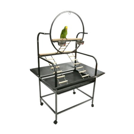 - A and E Cage Co. The O Parrot Playstand