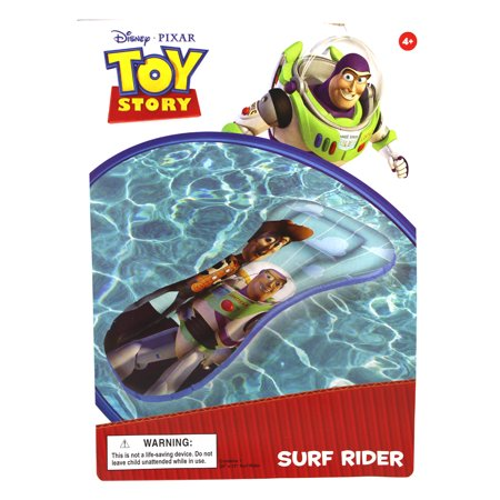 Buzz and Woody Toy Story Blue Colored Surf Rider Inflatable Pool Raft