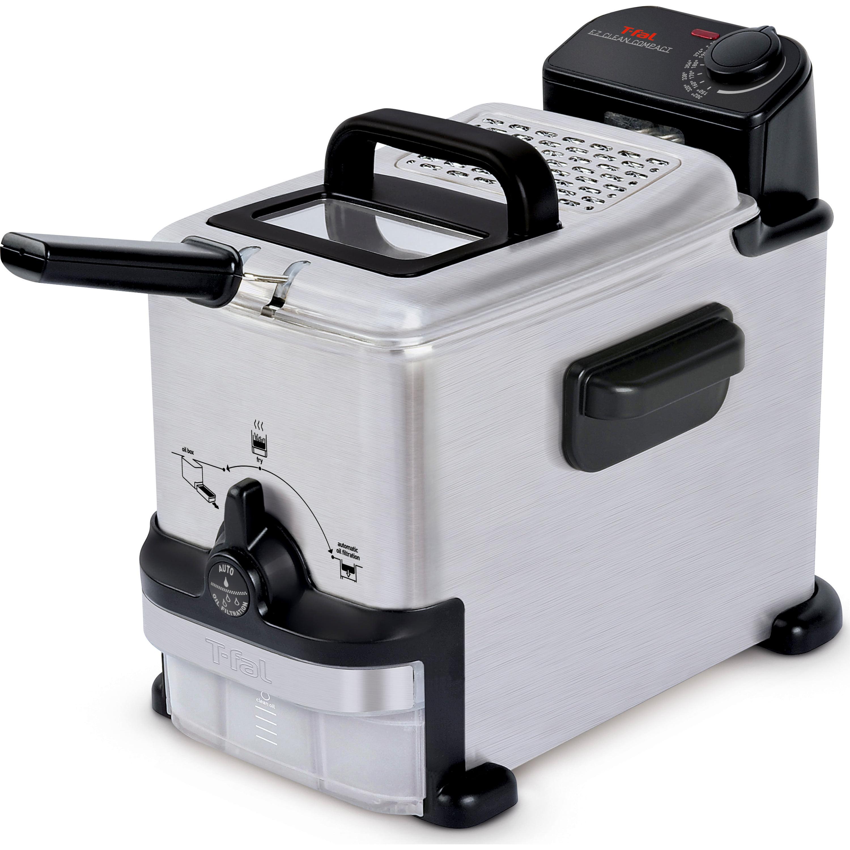 T-fal, FR702D51, EZ Clean Deep Fryer 1.8 L , Stainless Steel - Walmart.com