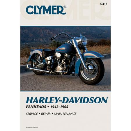 Clymer Harley-Davidson H-D Panheads 1948-1965 : Service, Repair, Maintenance ()