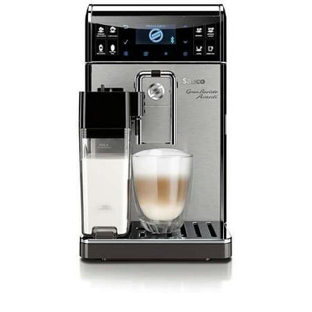 saeco granbaristo avanti super automatic, connected, espresso machine, stainless steel,