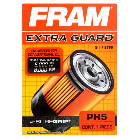 Fram Extra Guard Oil Filter  Ph5