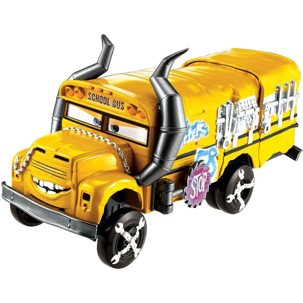 Disney Pixar Cars 3 Crunch & Crash Miss Fritter Vehicle