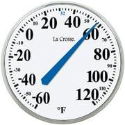 La Crosse Technology LCR104114W La Crosse Technology 13.5-Inch Round Thermometer