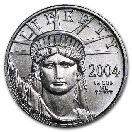 2004 1 10 Oz Platinum American Eagle Bu