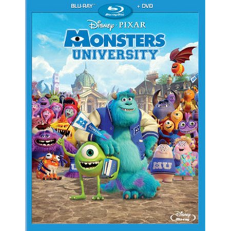 Monsters University (Blu-ray) (Monsters Inc And Monsters University Blu Ray)