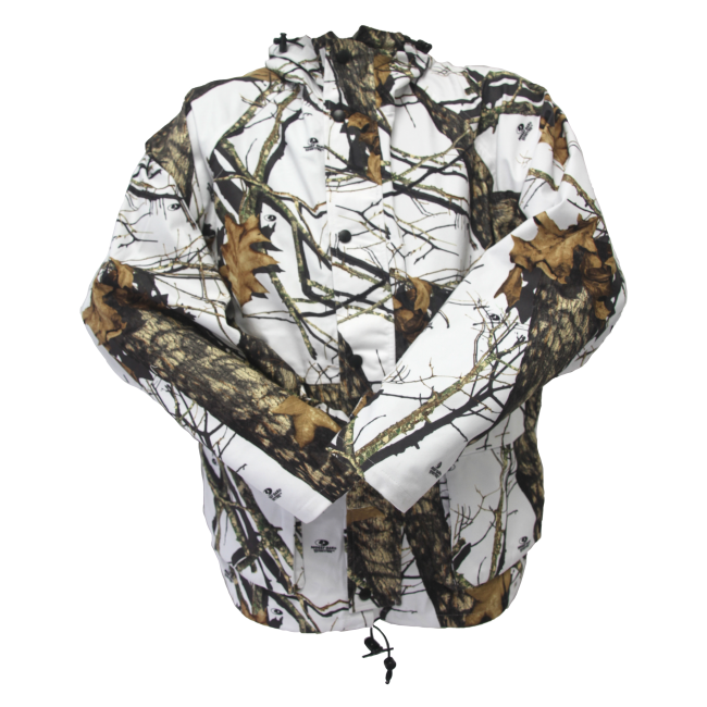 Wildfowler Outfitter Water Proof Hunting Parka, Winter Break-Up Large by Wildfowler