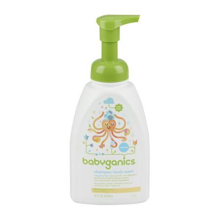 Babyganics Shampoo & Bodywash 16 Oz