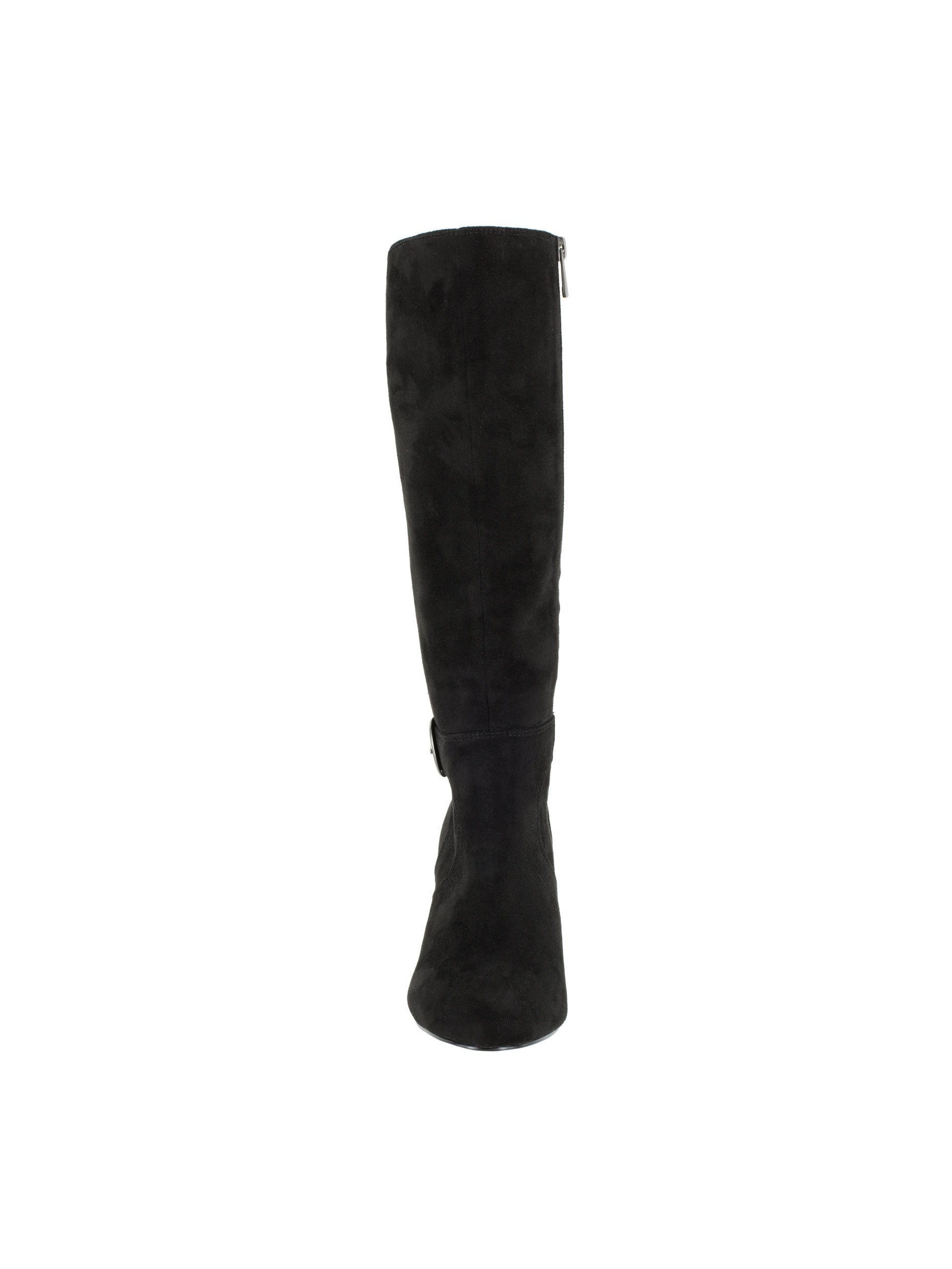 Bella Vita Women's Toni II Black Suede Tall Boots by Overstock