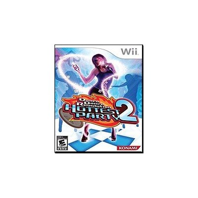 dance dance revolution hottest party 2 game only(no mat)