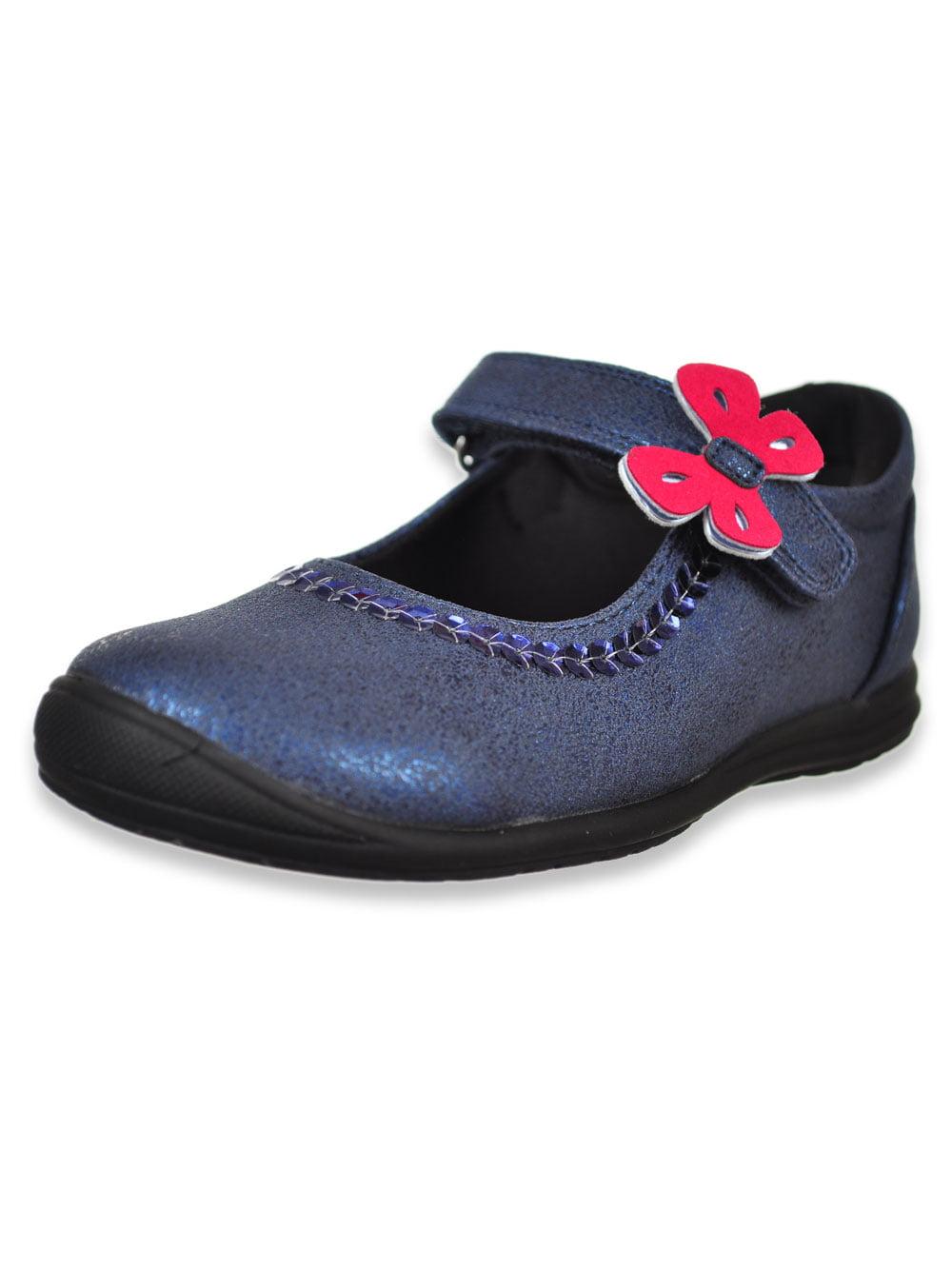 Girl Flat Shoes Micky Minnie Mouse Mary Jane Casual Uniform Dress Shoes Princess