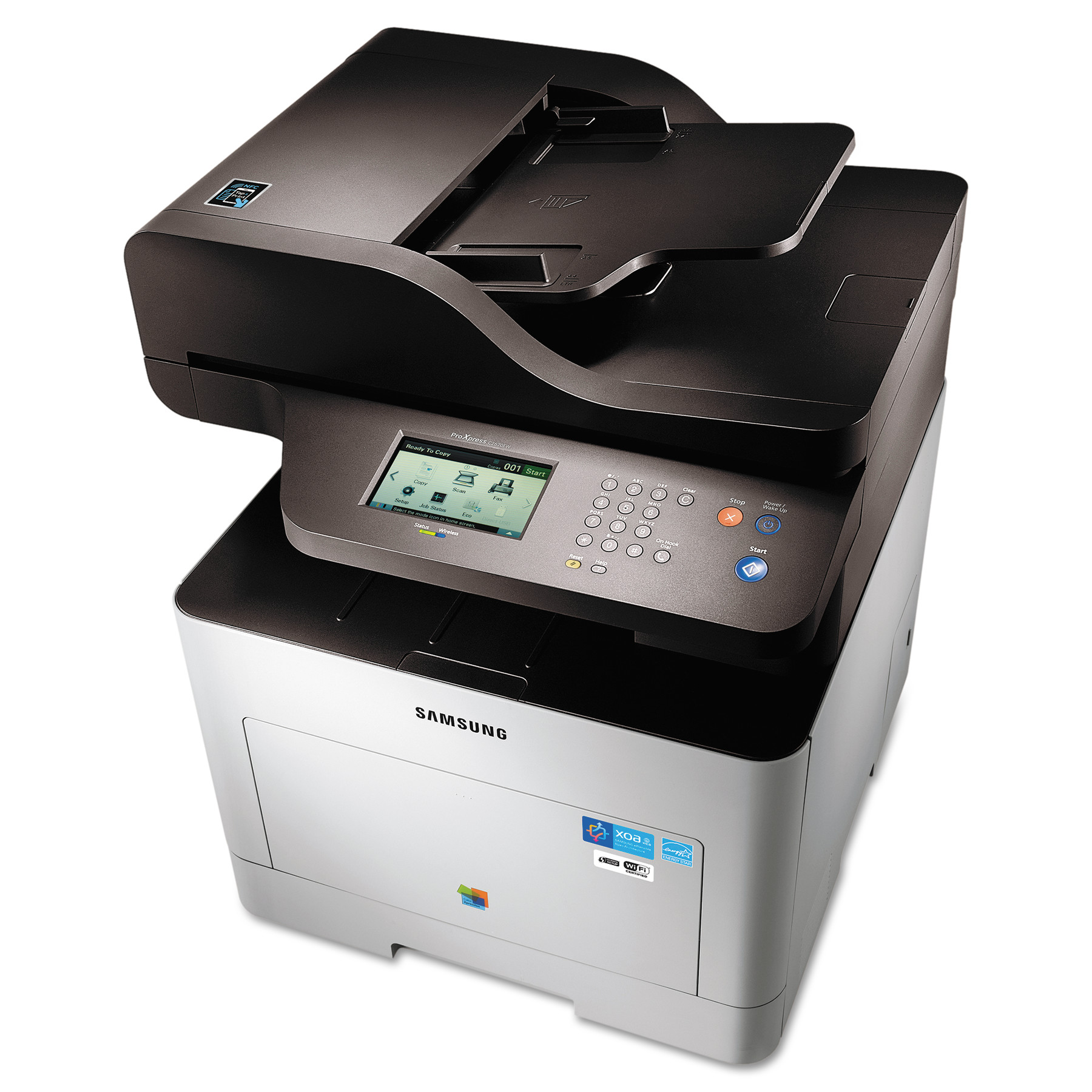 Samsung ProXpress SL-C2670FW Color Laser Multifunction Printer, Copy/Fax/Print/Scan