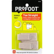PROFOOT Toe Straight Hammertoe Wrap 1 Pair Toe Wraps to Straighten Toes, Can Be Worn With Shoes