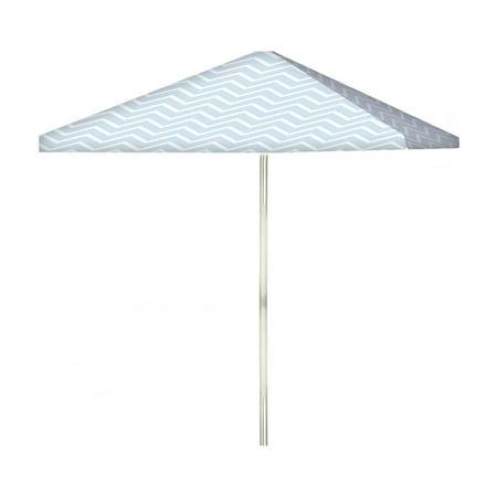 Best of Times Boy Baby Shower 6 ft. Steel Square Market Umbrella ()
