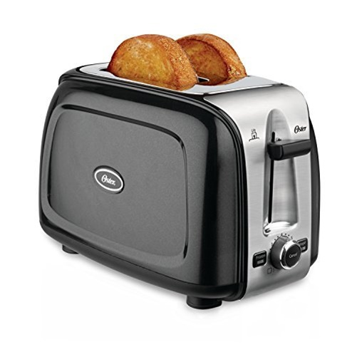 Oster 2-Slice Toaster - Black Metallic