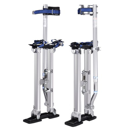 Costway 18-30 Inch Drywall Stilts Aluminum Tool Painters Walking Taping Finishing
