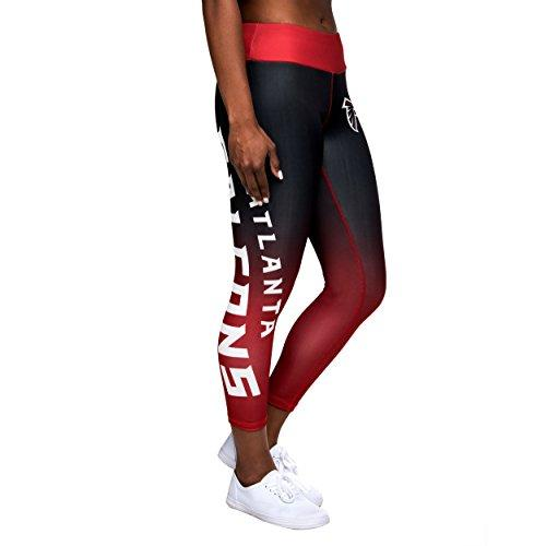 Forever Collectibles NFL Women's Atlanta Falcons Gradient 2.0 Wordmark Leggings