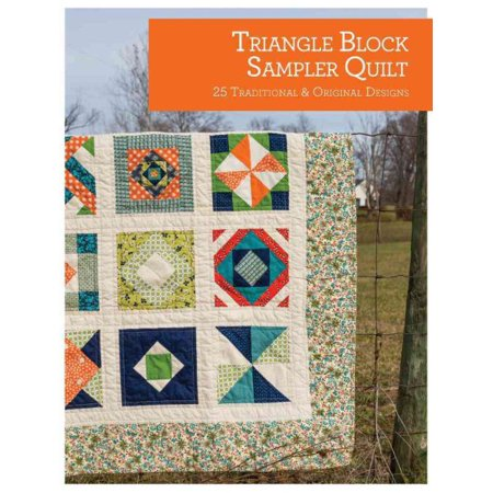 Triangle Block Sampler Quilt