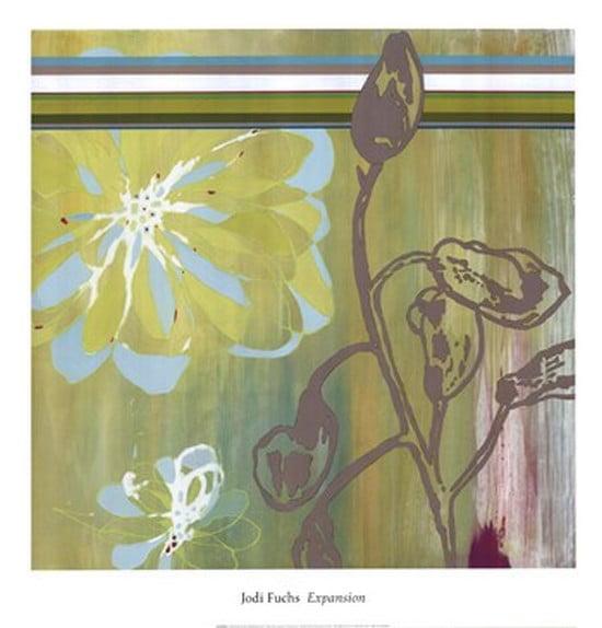 Expansion I Poster Print by Jodi Fuchs (20 x 21)