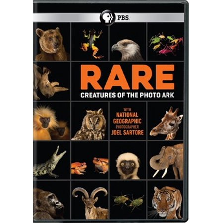Rare: Creatures of the Photo Ark (DVD)