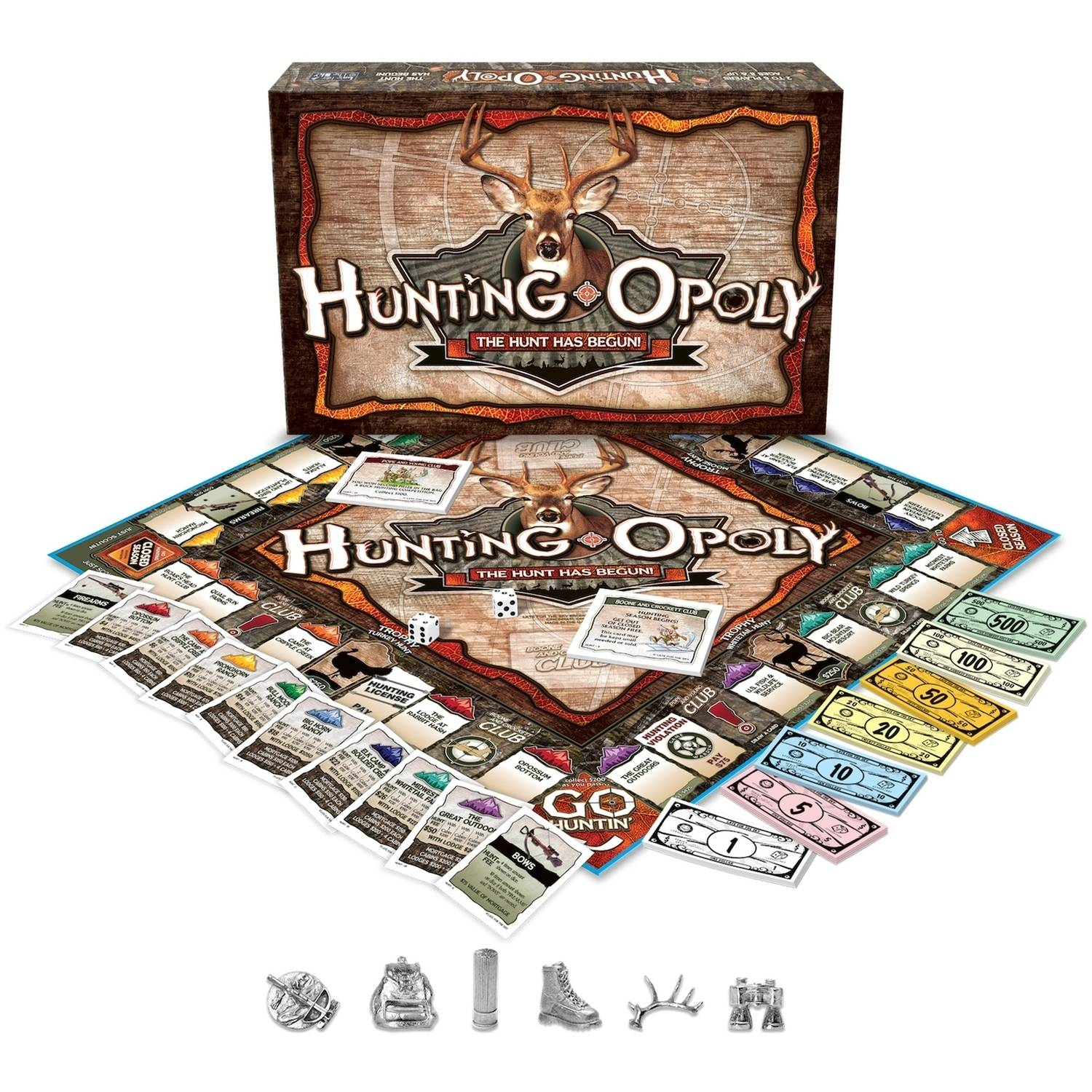 Late for the Sky Hunting-opoly Board Game by Late for the Sky