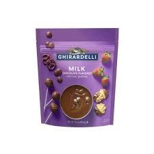 Ghirardelli Milk Chocolate Melting Wafers (Pack of (Chocolate Flavor Melting Wafers)