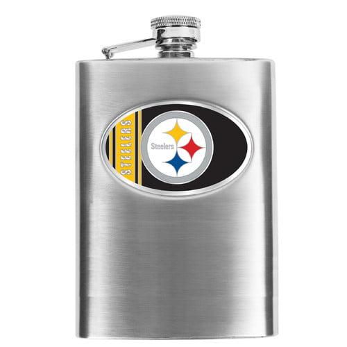 NFL - Men's Pittsburgh Steelers Hip Flask