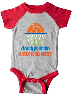 07fe20c0e17 Product Image Daddys Little Basketball Buddy Infant Creeper