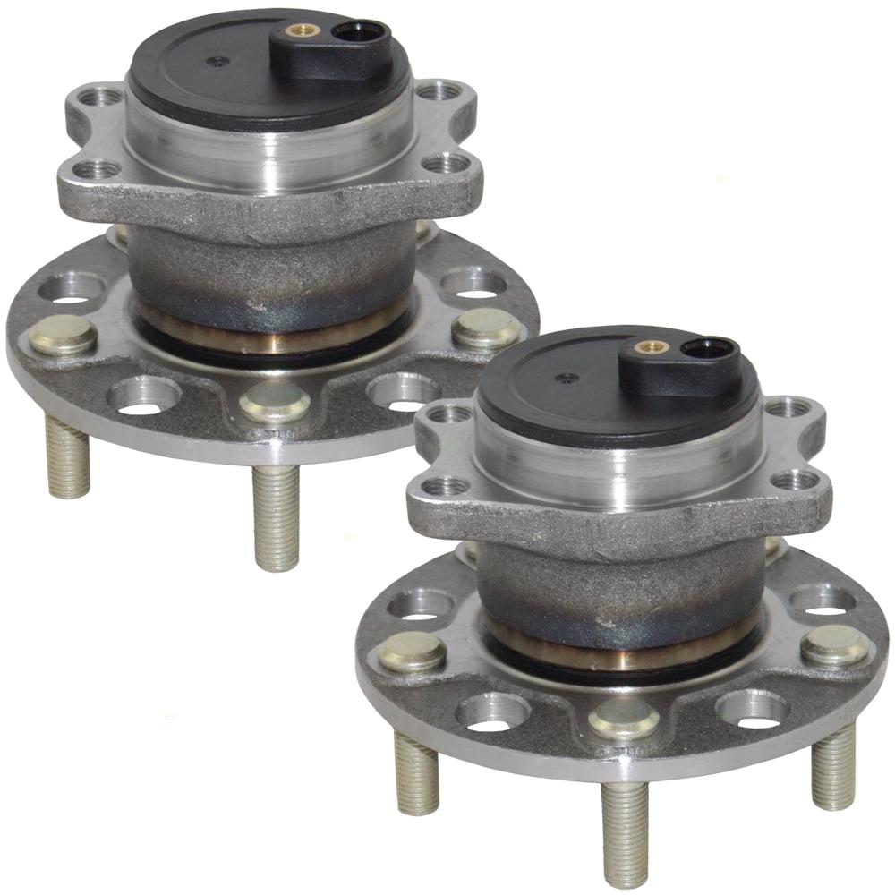 Pair Set Rear Wheel Hub Bearings Replacement for 200 Avenger Caliber Compass Patriot Sebring 4766719AB 512332