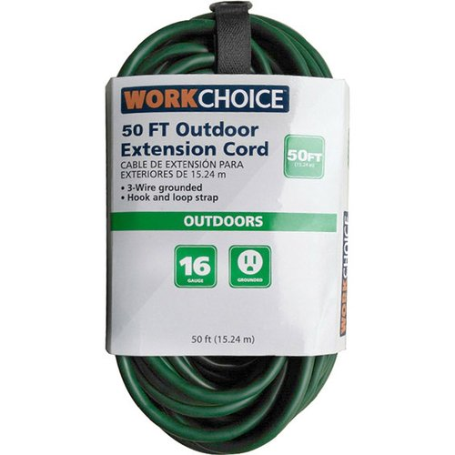WorkChoice 50' SJTW 16 3 Green Outdoor Extension Cord by DONGGUAN APOLLO ELECTRICAL TECHNOLOGY CO., LTD.