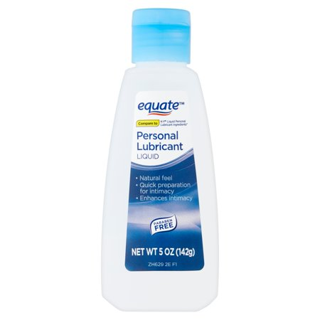 Liquid Silk Personal Lubricant - Equate Liquid Personal Lubricant, 5 oz