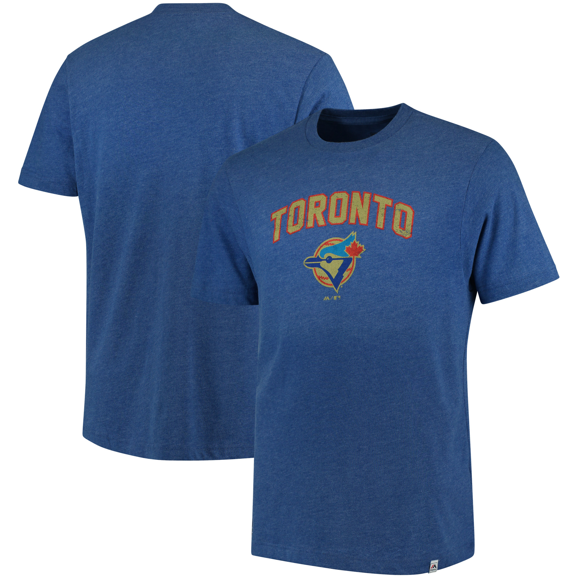 Toronto Blue Jays Majestic Cooperstown Collection Eephus Pitch Softhand T-Shirt - Royal