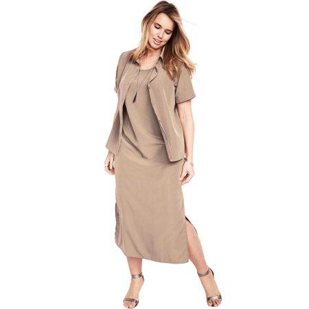 Roaman\'s Plus Size Jacket Dress Set