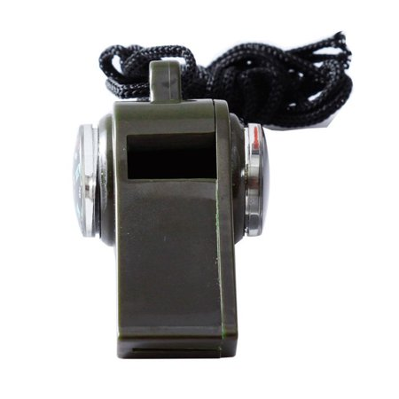 3 in 1 Survival Whistle With Built in Thermometer Compass Magnifier Caroj - image 1 de 6