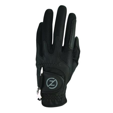 - Zero Friction Men's Golf Glove, Left Hand, One Size, Black