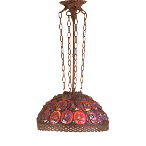 "Meyda Tiffany 30811 16"" Wide Pendant with Handmade Shade by Meyda Tiffany"