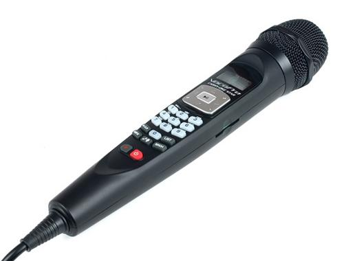 VocoPro CARRY-OKE STAR Plug-and-Play Karaoke Mic with SD Card Player Recorder by VocoPro