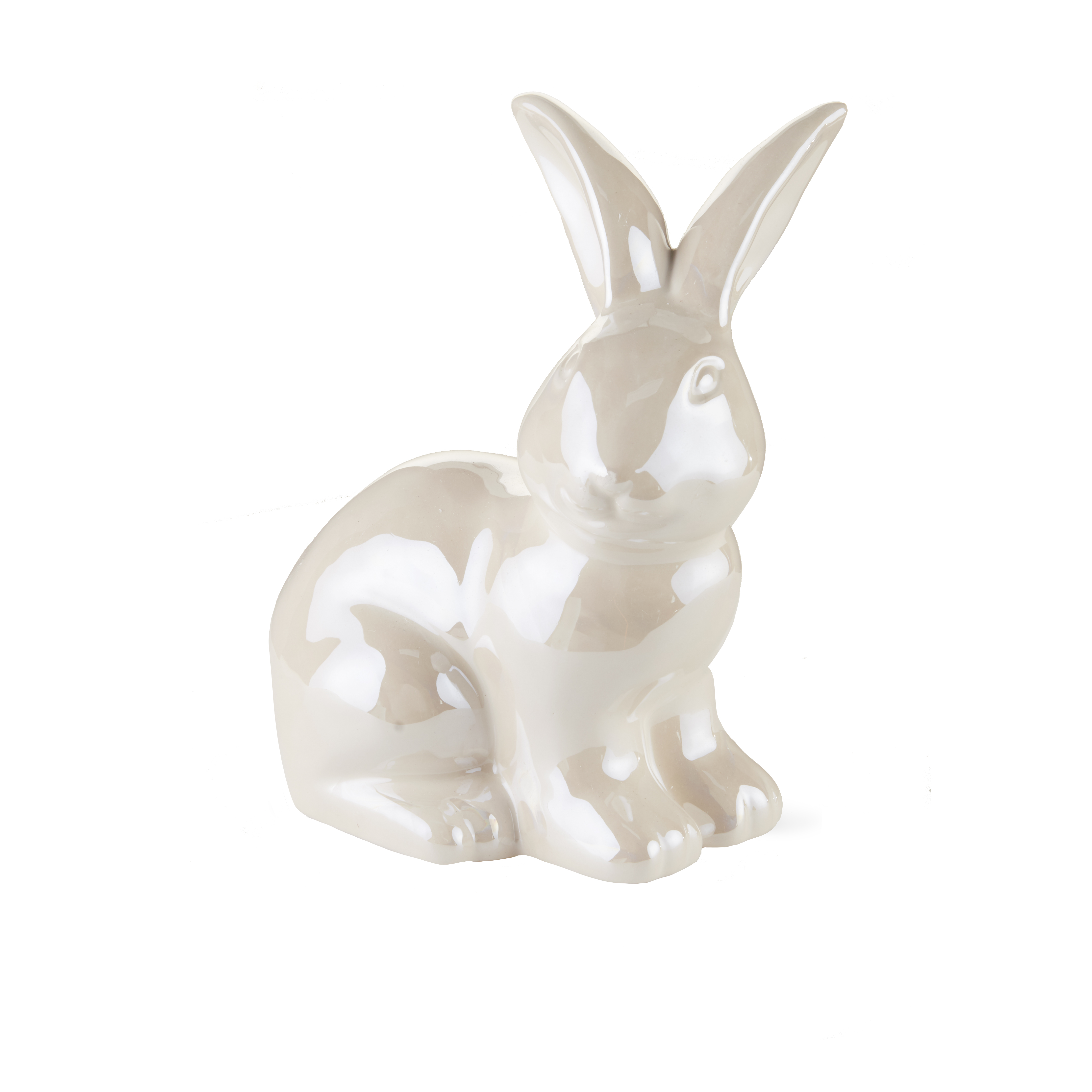 Way To Celebrate Easter Ceramic Bunny Decor, Sitting