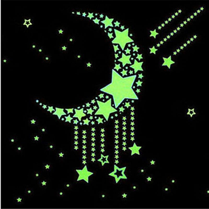 Dark Stars Adhesive Fluorescent Dots