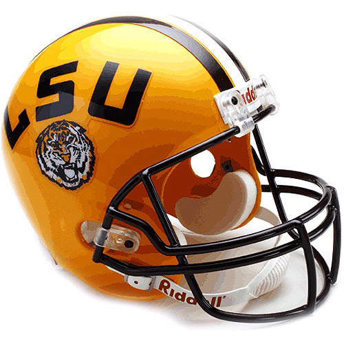 LSU Tigers Authentic Pro Line Riddell Full Size Helmet