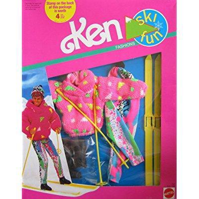 Mattel barbie ken ski fun fashions w accessories (1991)
