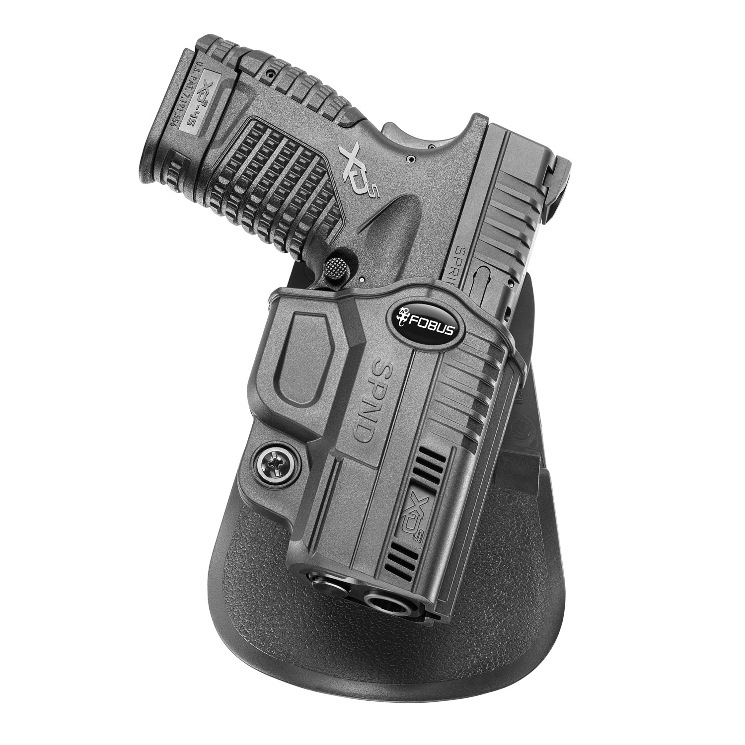 Fobus Evolution Paddle Holster-Springfield XD-S 3.3in 4in by Fobus Holsters
