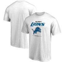 Detroit Lions NFL Pro Line Team Lockup T-Shirt - White