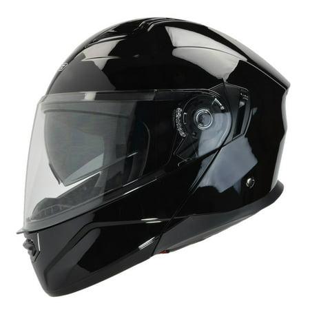 Vega Caldera Solid Modular Helmet Gloss Black